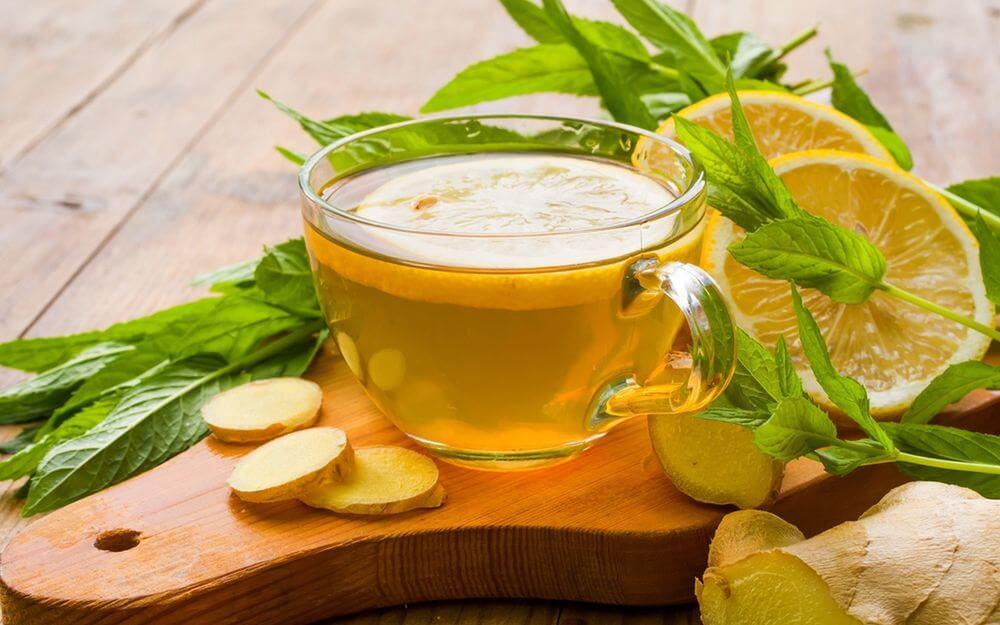 зеленый чай с имберем